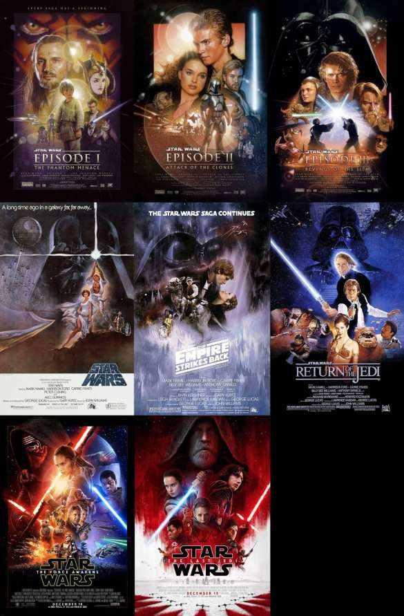 Star Wars - Movie List