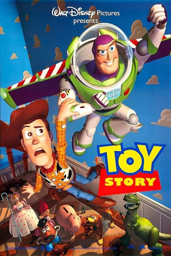 Toy Story - Road Trip Movie List