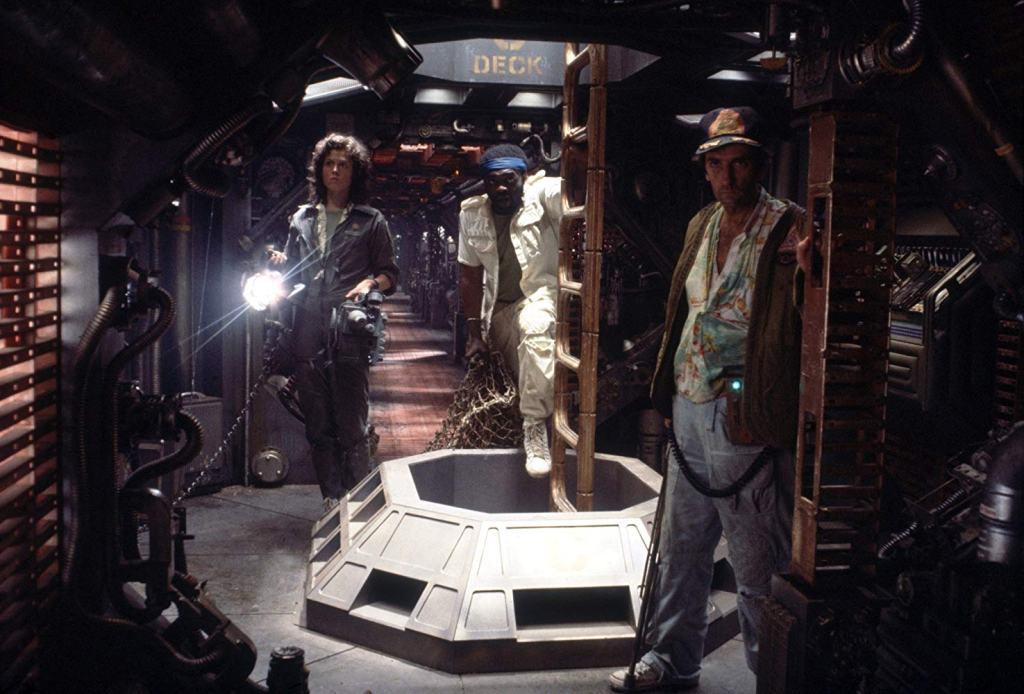 Sigourney Weaver, Yaphet Kotto and Henry Dean Stanton in Alien