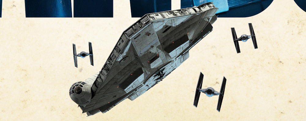 There's a new Millennium Falcon design for Solo: A Star Wars Story.