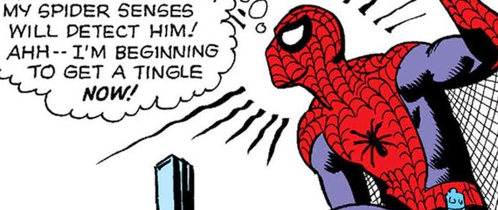 Spider-Man's spider sense is a skill that Tom Holland's hero has not yet developed in the Marvel Cinematic Universe.