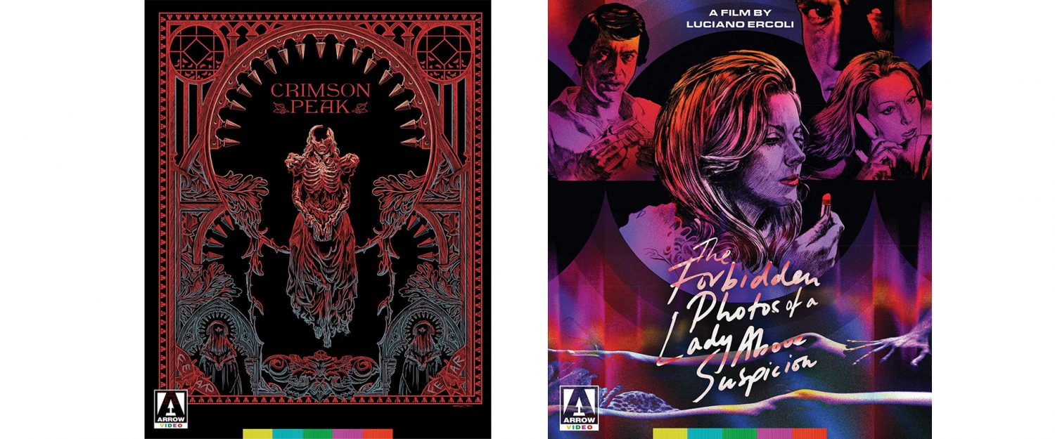 Arrow Films brings Crimson Peak and more to Blu-ray.