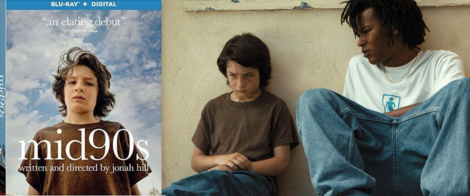 Jonah Hill's Mid90s comes to Blu-ray this week.