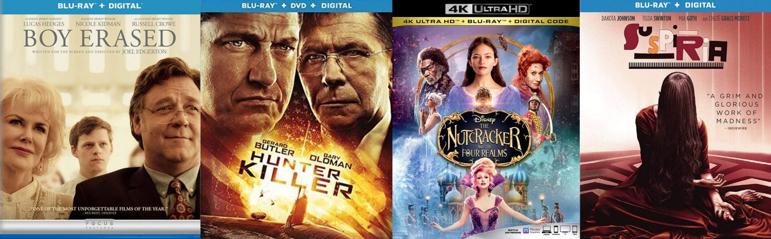 There are lots of great new release Blu-rays and DVDs hittitng January 28th.