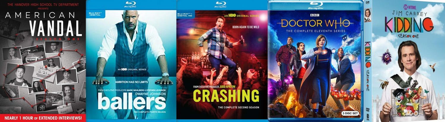 There's lots of great television titles coming home on Blu-ray and DVD this week.