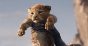 """A FUTURE KING IS BORN – In Disney's all-new """"The Lion King,"""" Simba idolizes his father, King Mufasa, and takes to heart his own royal destiny. Featuring JD McCrary and Donald Glover as young Simba and Simba, """"The Lion King"""" roars into U.S. theaters on July 19, 2019. ©2019 Disney Enterprises, Inc. All Rights Reserved."""