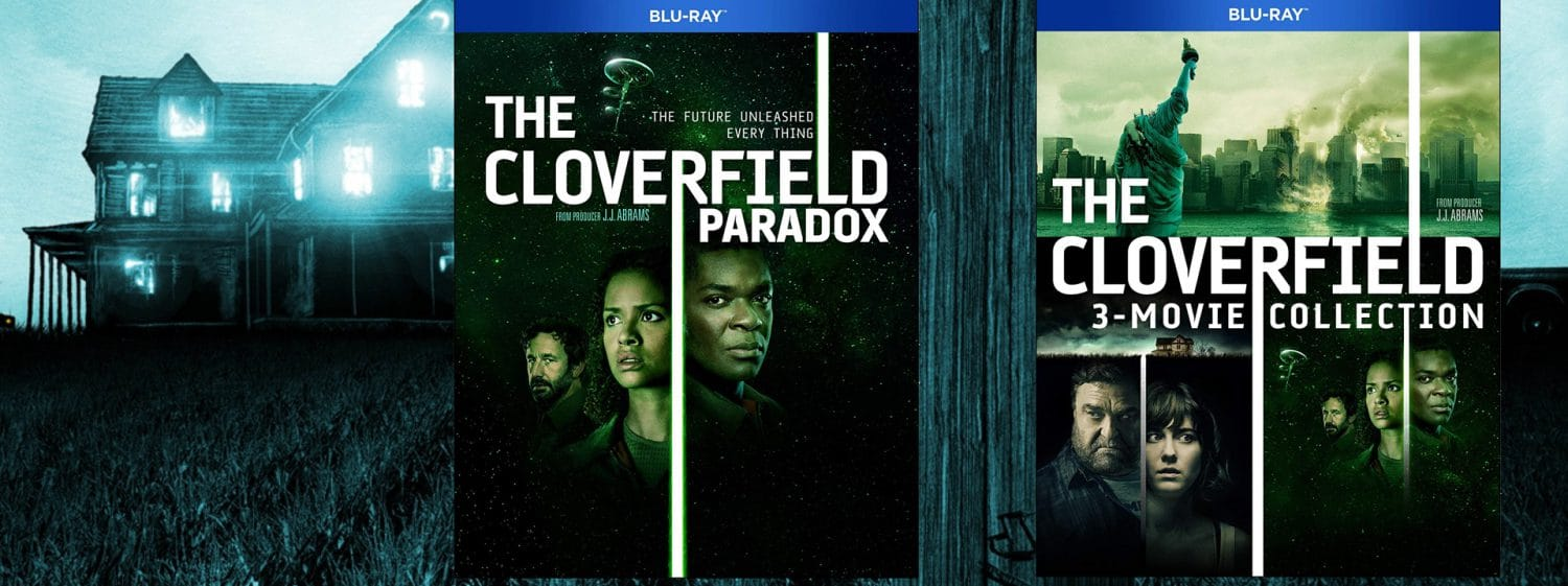 The Cloverfield Paradox comes home alongside the Cloverfield 3-movie collection.