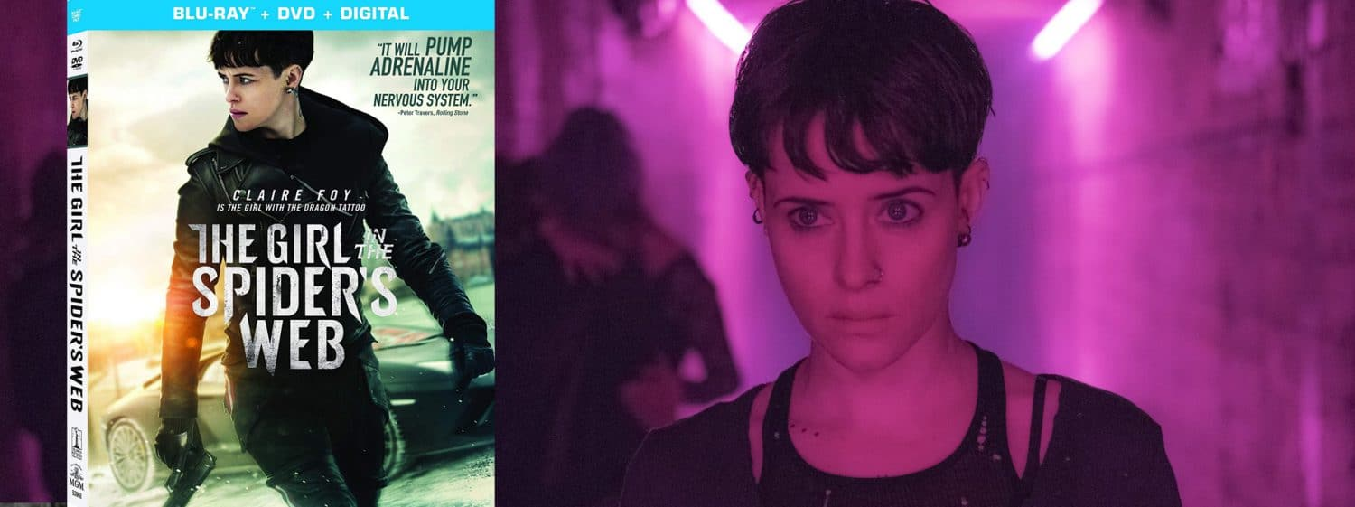 The Girl in the Spider's Web is now available on Blu-ray and DVD.