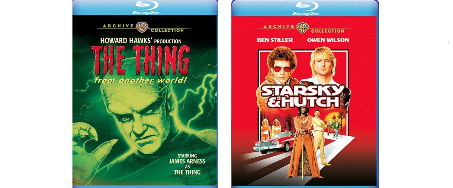 This week, Warner ARchive is releasing both The Thing From Another World and Starsky and Hutch.