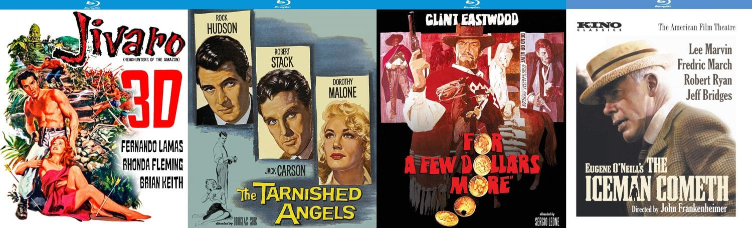 Look for Kino Lorber to release to Blu-ray Douglas Sirk's The Tarnished Angeles, Sergio Leone's For A Few Dollars More, John Frankenheimer's The Iceman Cometh and more!