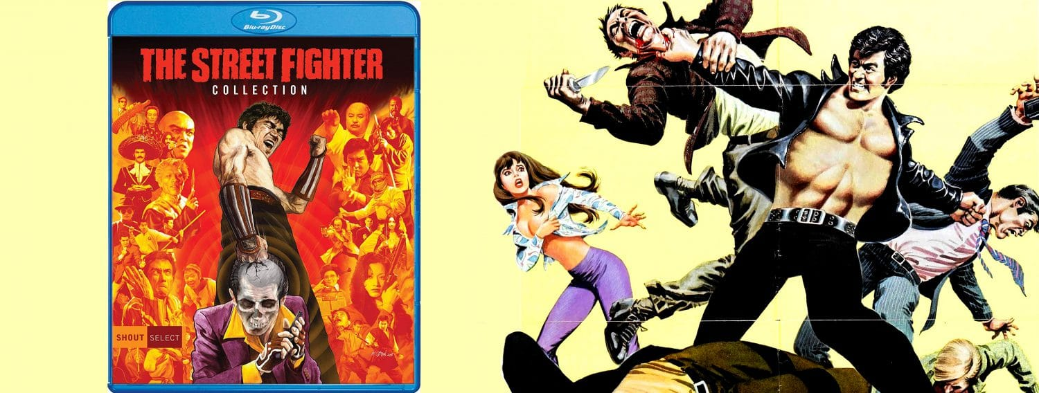 All three original Street Fighter films are coming to Blu-ray this week from Shout! Factory.