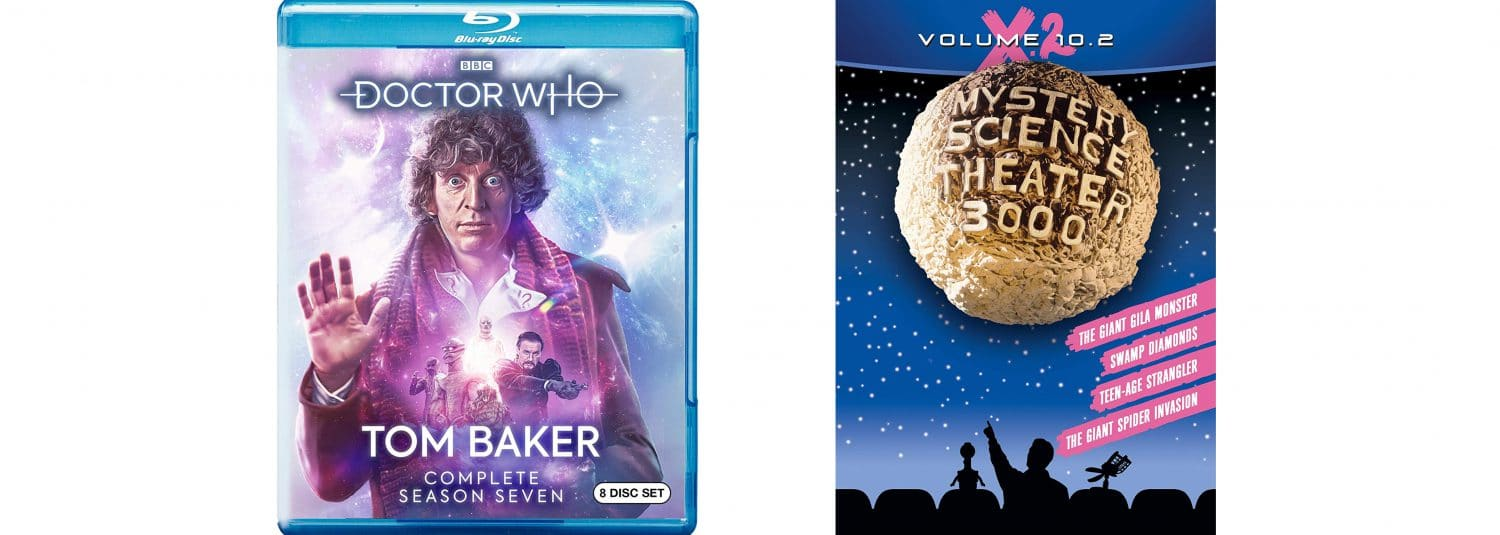 A new season of Tom Baker Doctor Who joins MST3k volume 10.2.