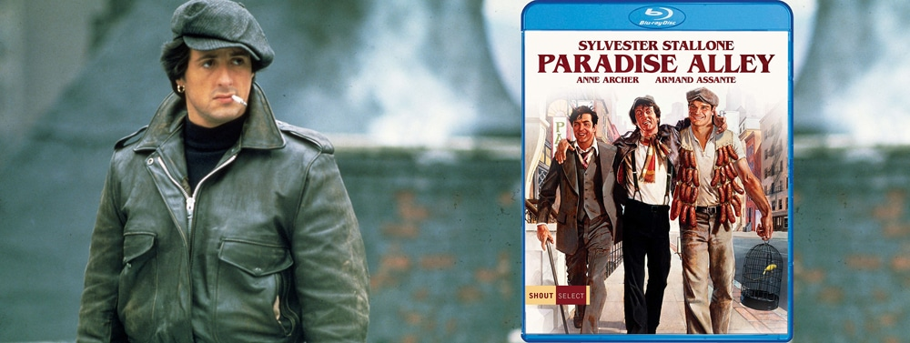 Shout Select is releasing Paradise Alley on Blu-ray this week.