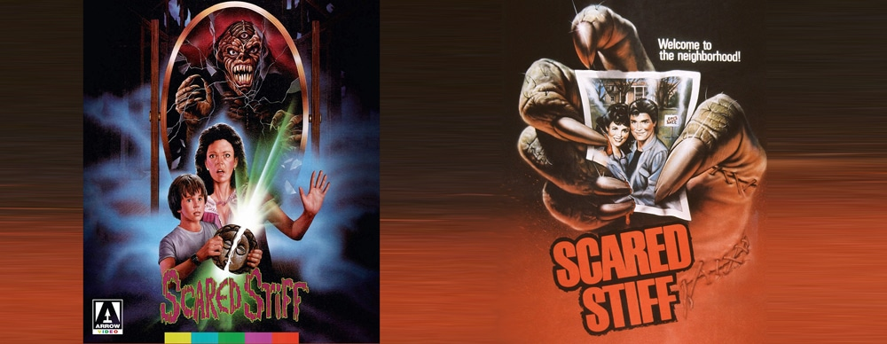 Arrow brings to blu ray the 1984 film Scared Stiff.