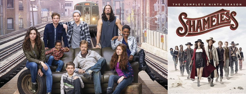 Look for the complete ninth season of Shameless to hit Blu-ray on April 23.
