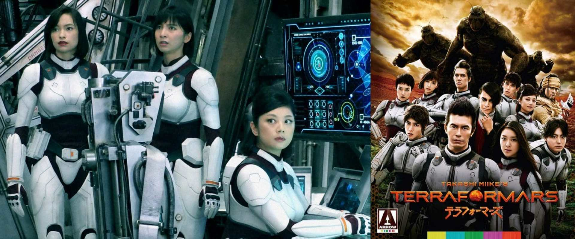 The TerraFormars movie comes to blu-ray via Arrow this week.