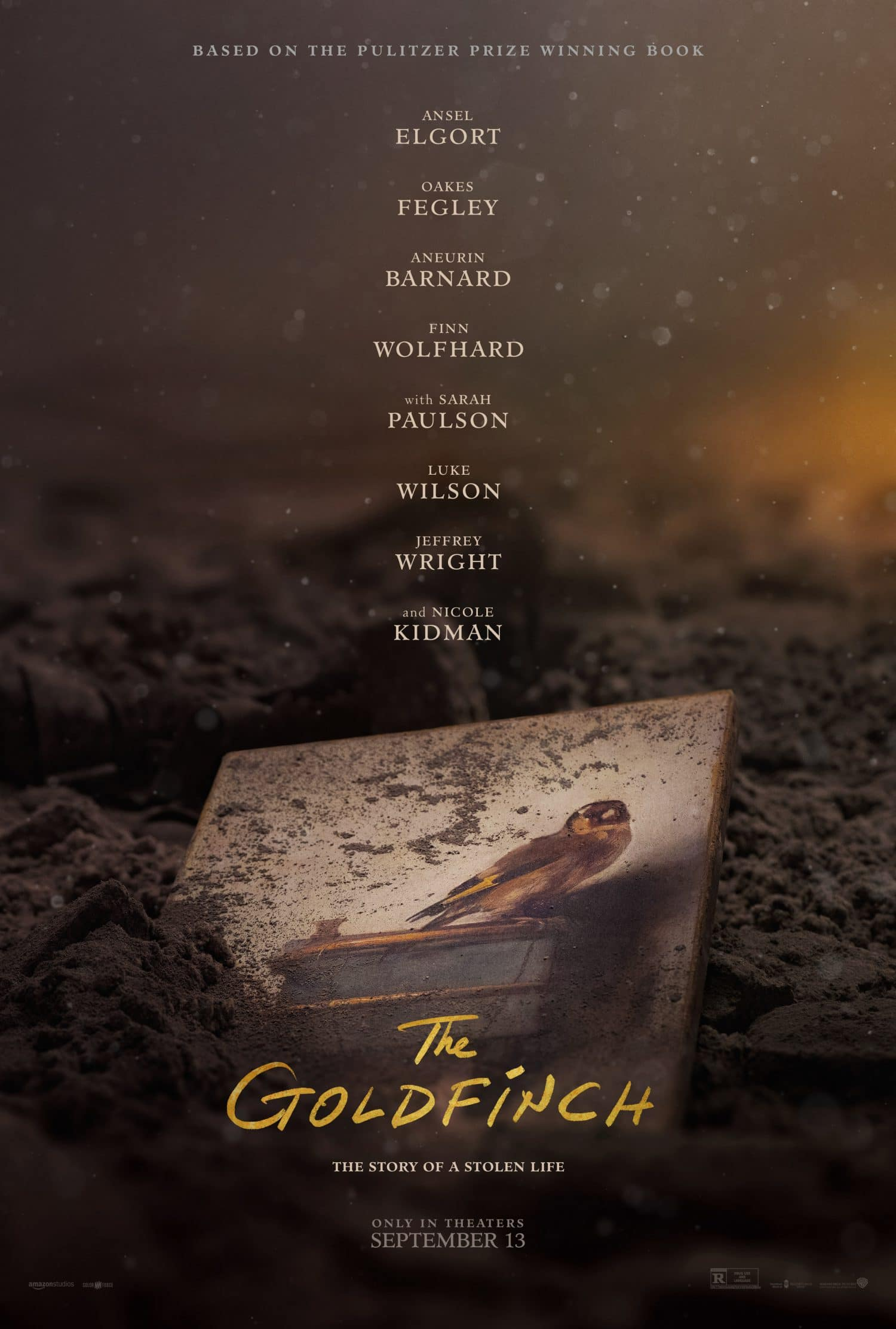 Watch the Goldfinch movie trailer.