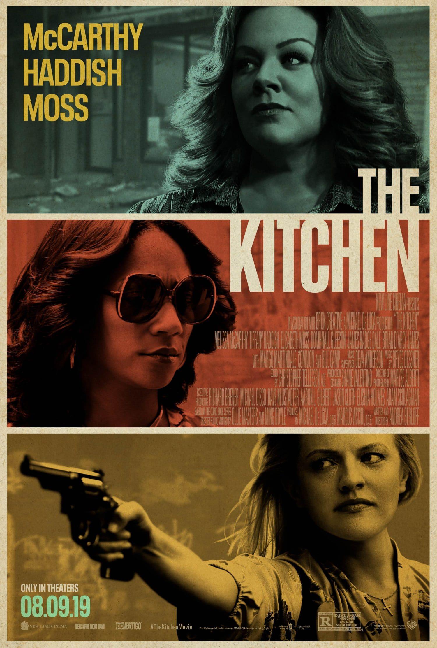 'The Kitchen' movie trailer offers a different kind of comic book adaptation.
