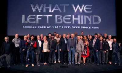 What We Left Behind is coming to the big screen for one night only on May 13. Check out our interview with Star Trek Deep Space Nine showrunner Ira Steven Behr.