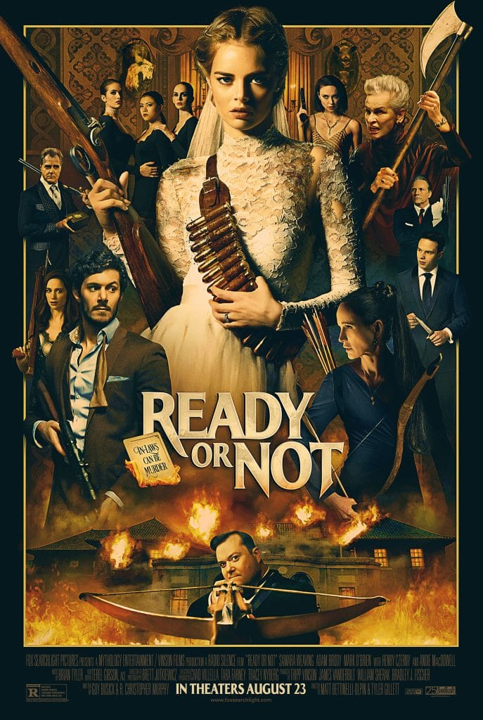 Watch the trailer for Ready or Not, a new movie.