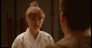"Imogen Poots stars as ""Anna"" in writer/director Riley Stearn's THE ART OF SELF-DEFENSE, a Bleecker Street release. Credit: Bleecker Street"