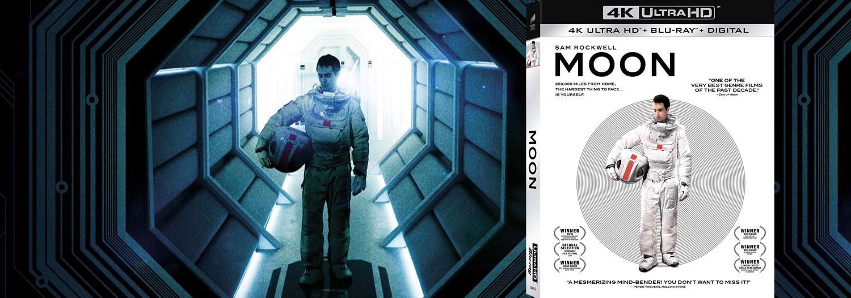 Duncan Jones' Moon makes its 4K Ultra HD debut this week.