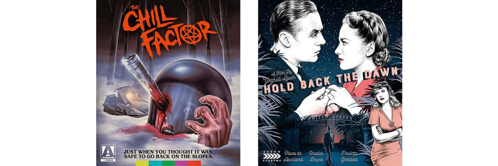 Chill Factor and Hold Back the Dawn are both hitting Blu-ray thanks to Arrow video.