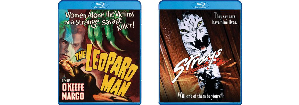The Leopard Man and Strays are both coming to Blu-ray this week via Shout! Factory.