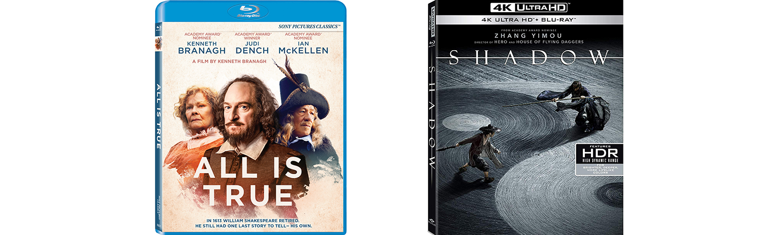 All is True and Shadow both come to Blu-ray this week.