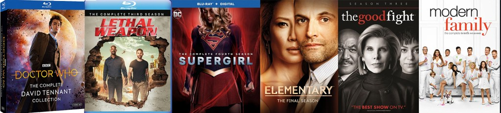 Check out all the great TV titles coming to Blu-ray and DVD this week.