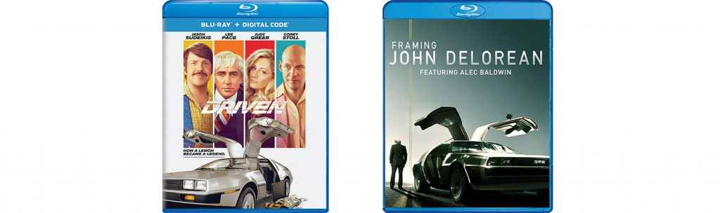 Look for both Driven and Framing John Delorean on Blu-ray this week.
