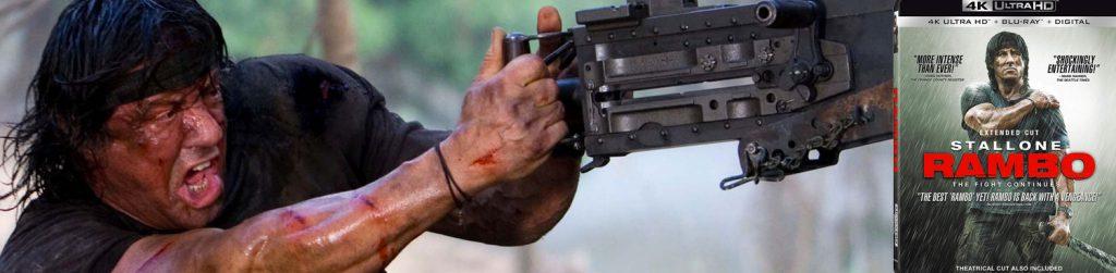 Look for Rambo 4 on 4K Ultra HD.