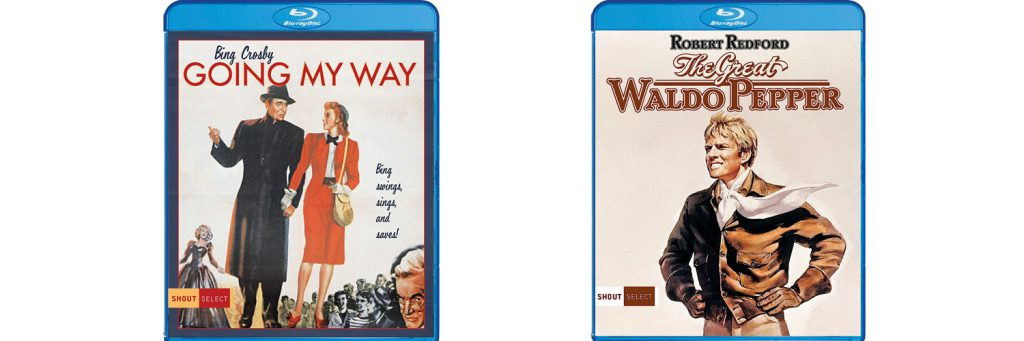 Going My Way and The Great Waldo Pepper are both coming to blu-ray this week from Shout! Factory.