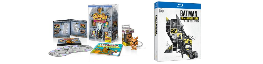 Look for both What's New, Scooby Doo and the Batman 80th anniversary collection.