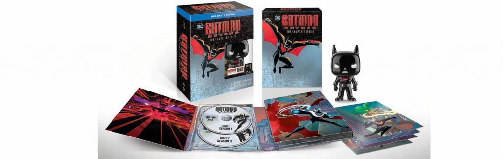 Batman Beyond is coming to Blu-ray this week in complete series form.