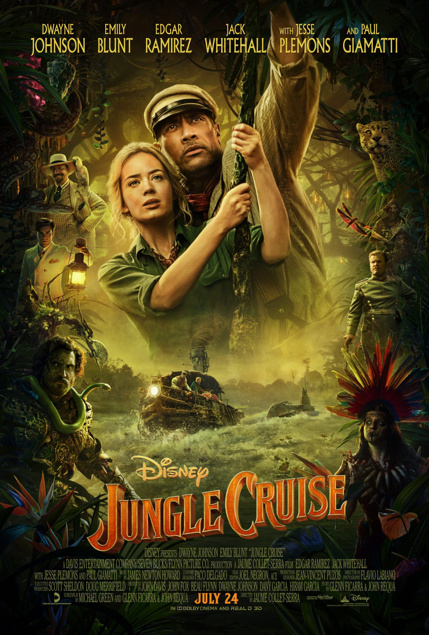 The Jungle Cruise movie is headed to theaters.