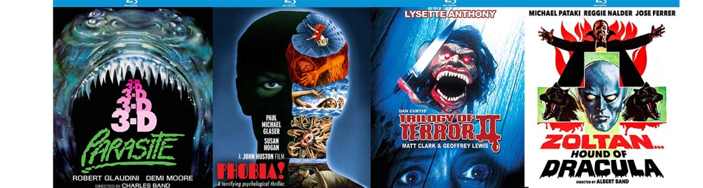 A number of horror movies are heading to Blu-ray this week from Kino Lorber.