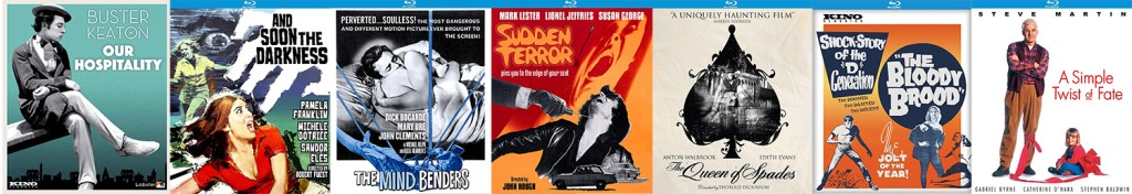 There are lots of great titles coming to blu-ray thanks to Kino Lorber and the Kino Lorber Studio Classics label!
