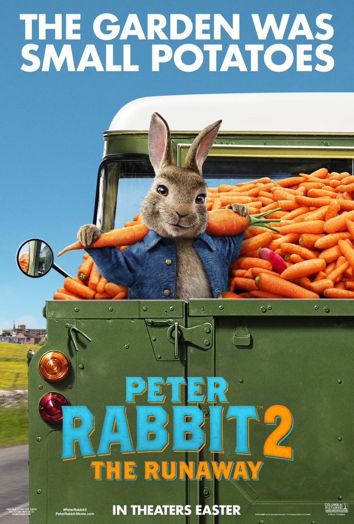 Watch the trailer for Peter Rabbit 2 and catch the new Peter Rabbit movie in theaters April 2020.