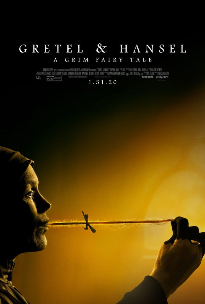 Take a look at the new Gretel and Hansel movie poster.