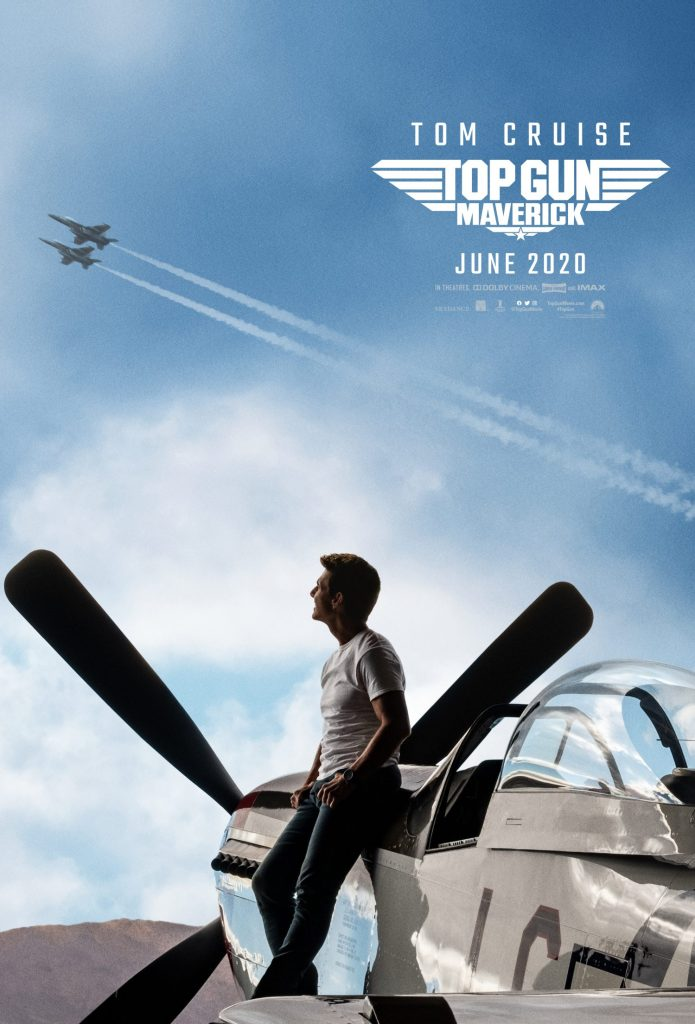 Tom Cruise is back on a new Top Gun Maverick poster.