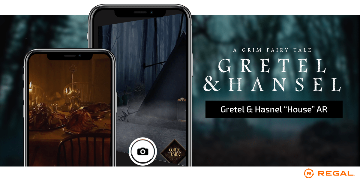 Gretel & Hansel Poster Activation AR regal Cinemas