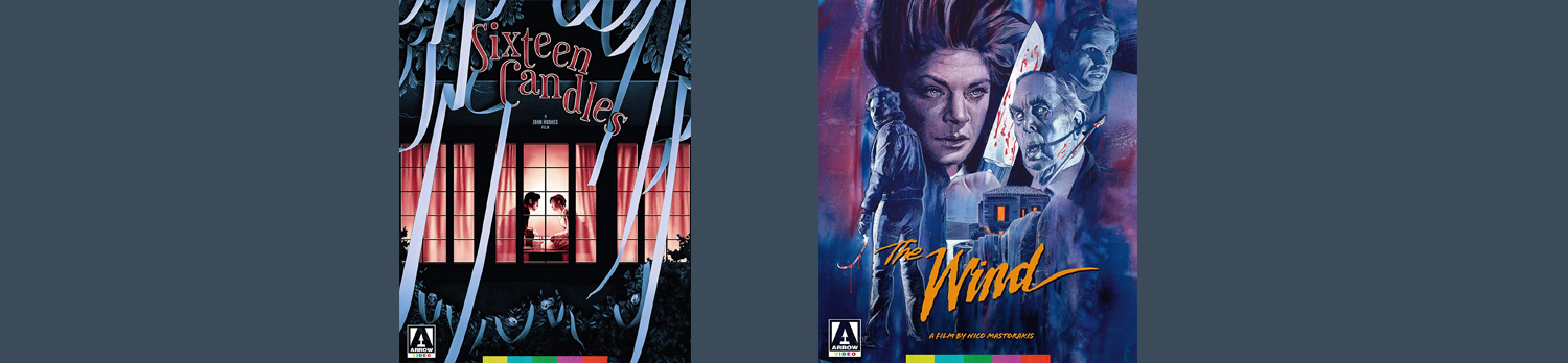 Sixteen Candles and The Wind are both coming to Blu-ray this week from Arrow Video.
