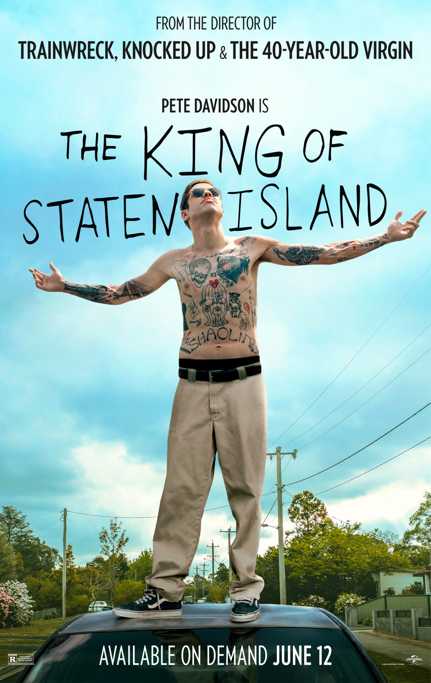 The King of Staten Island is headed to digital.