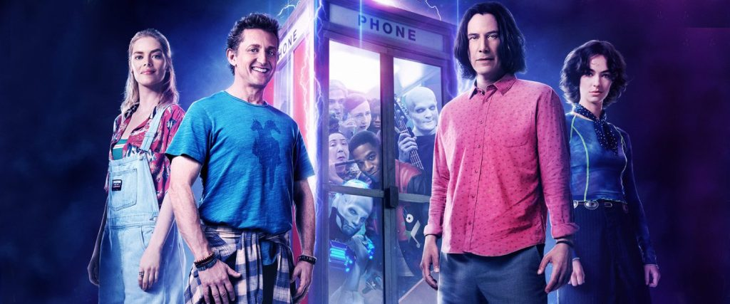 Watch the new Bill and Ted movie trailer for a look at the new Bill and Ted movie.