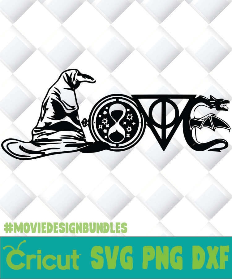 Download HARRY POTTER GEEKNERDLOVE SVG, PNG, DXF, CLIPART - Movie ...