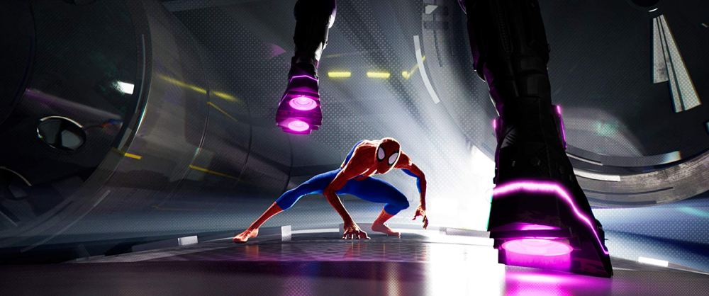 Chris Pine in Spider-Man: Into the Spider-Verse