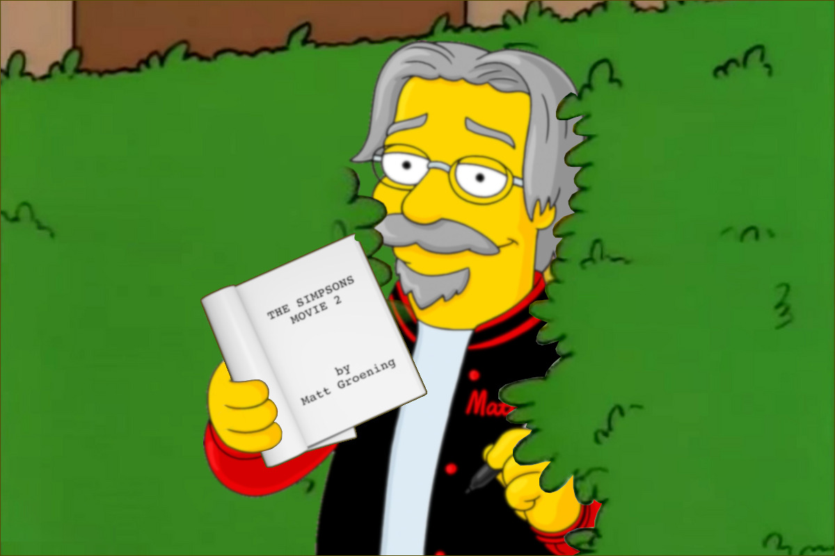Matt Groening Explains Why There Hasn T Been A The Simpsons Movie Sequel The Movie Dweeb