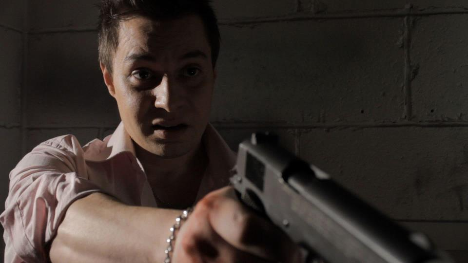 Giancarlo Caltabiano plays gangster Vinnie Rizzo