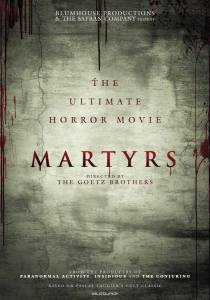 First Poster For Martyrs Remake Arrives….This Remake Has Me Frightened !